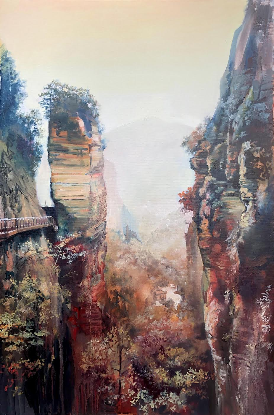 Canvey Island ltd edition print landscape artist of the year finalist John Ball